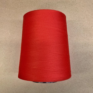 100% Polyester Tex 27 Sewing Thread 10,000 Yards-Red 6590