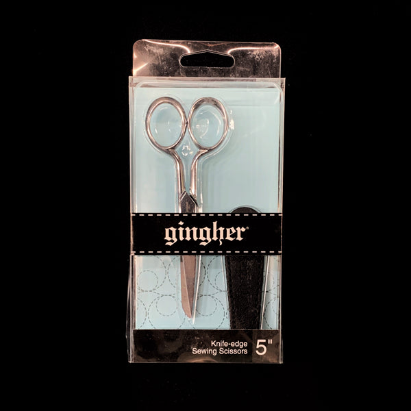 "Gingher 5"" Knife Edge Sewing Scissors"