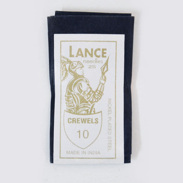 Lance Crewels - Multiple Sizes - 25-pk