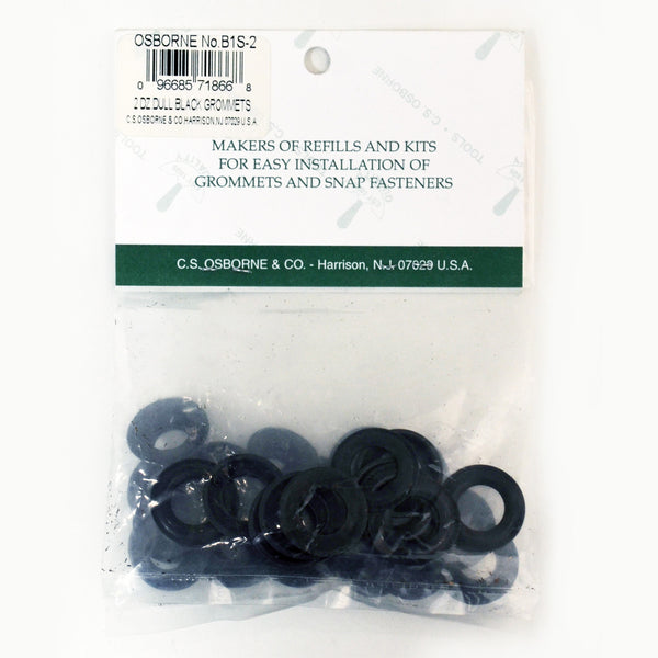 Grommet and Washer for Set it Yourself Kit - Black