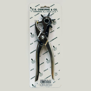 Revolving Leather Hole Punch