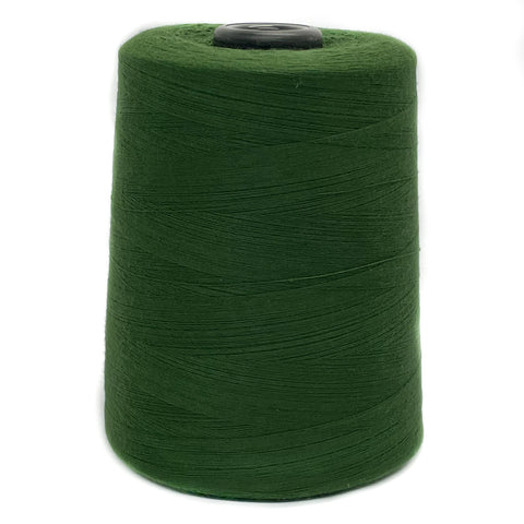 100% Polyester Tex 27 Sewing Thread 10,000 Yards - Hunter Green #6409