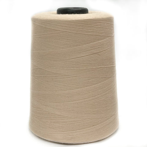 100% Polyester Tex 27 Sewing Thread 10,000 Yards - Light Nude #5045
