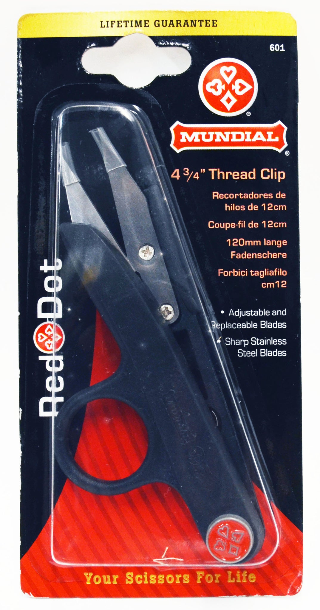 Mundial Thread Clippers - 4 3-4""