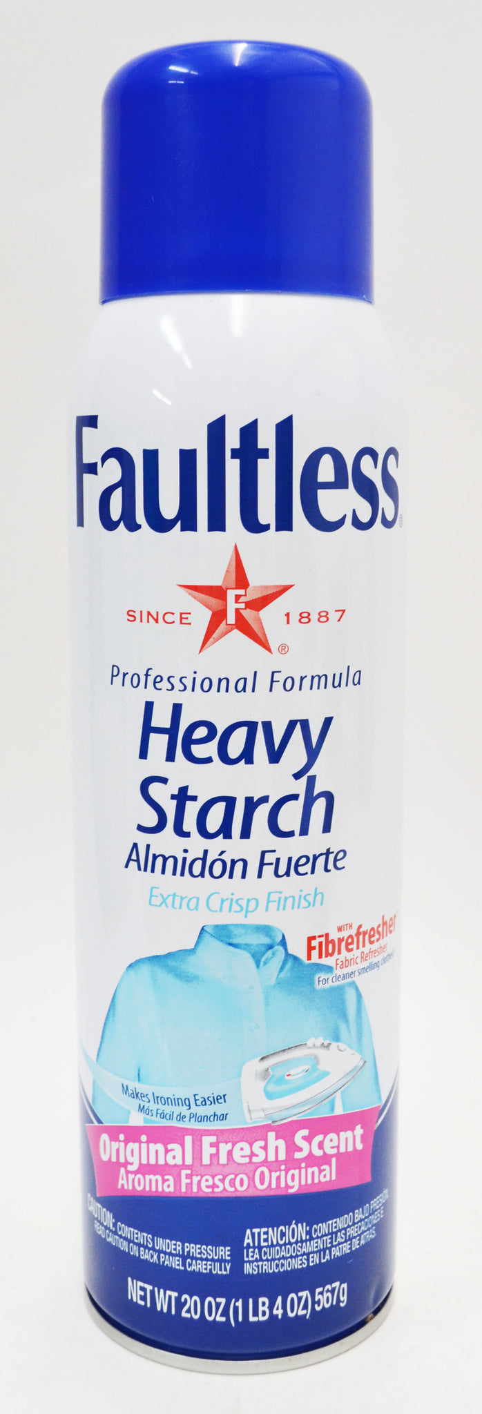 Faultless Heavy Starch - Original Scent
