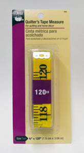 Dritz Quilters Tape Measure - 1 -pk