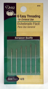 Easy Threading Needles - 6-pk