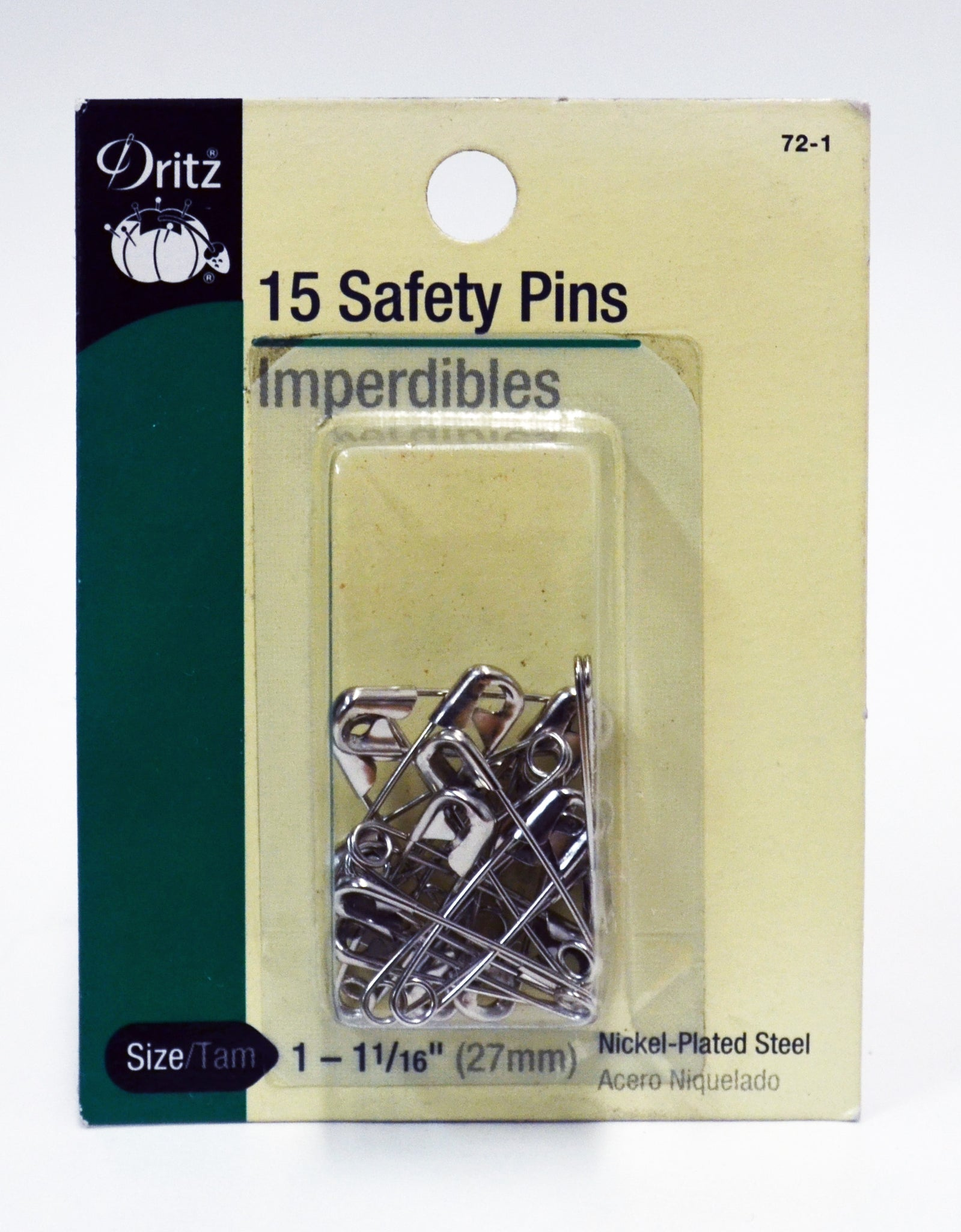 Safety Pins - 15-pk