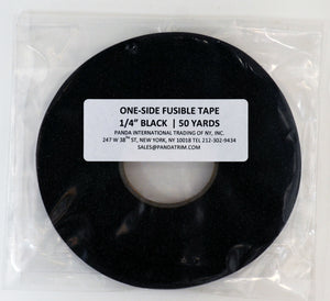 One-Side Fusible Tape - Multiple Colors - 50yd