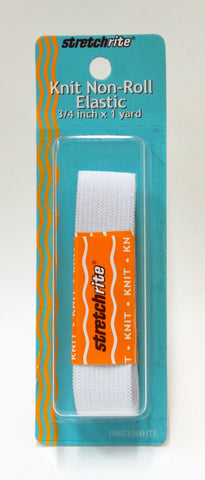 Stretchrite Knit Non-Roll Elastic - 1-pk