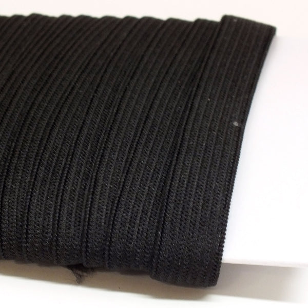 "1/2"" Knitted Elastic - Black or White - 144 yds"