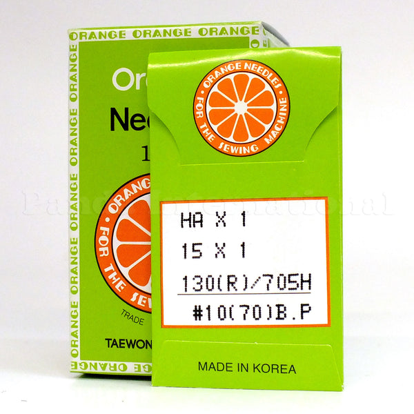 Orange Home Sewing Machine Needles - 100-pk