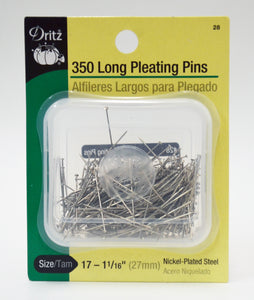Long Pleating Pins - 350-pk