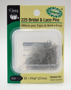 Bridal and Lace Pins - 225-pk