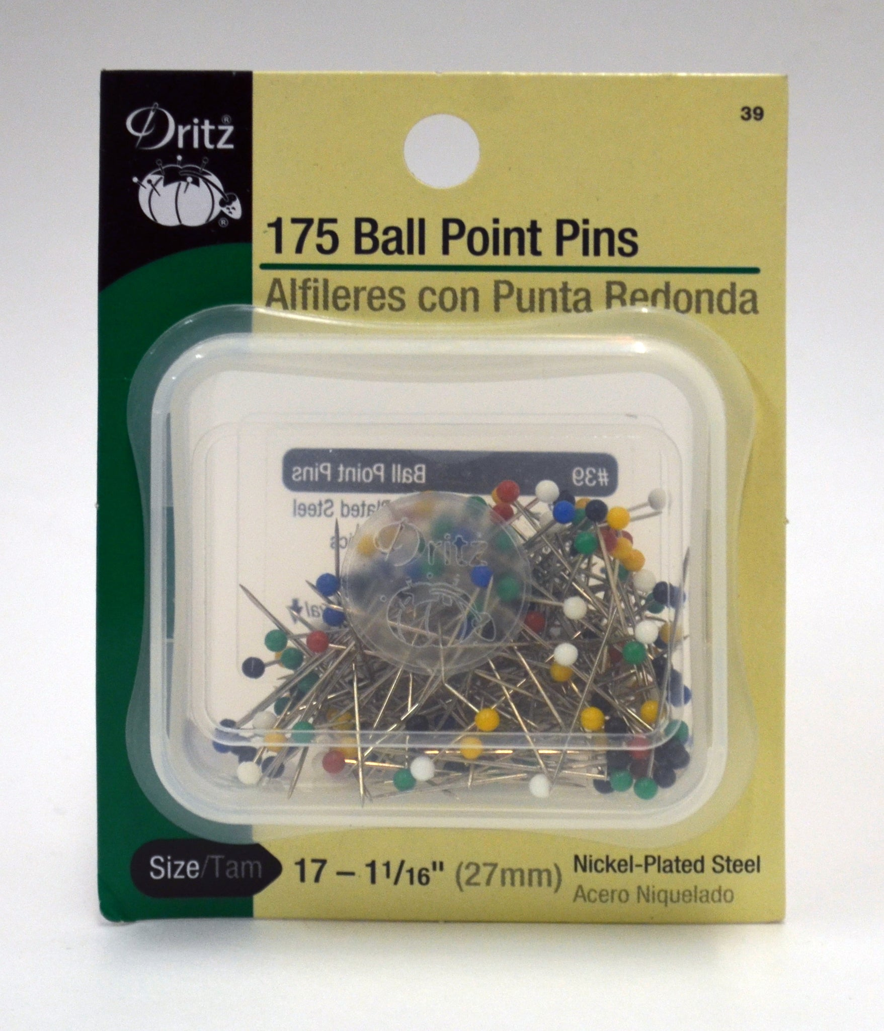 Ball Point Pins - 175-pk