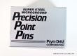 Precision Point Pins - #16 T-pin - 1-2 lb