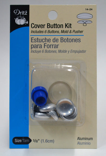 Cover Button Kit - Various Sizes