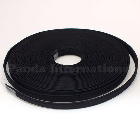 Covered Polyester Boning - Black - 12YD
