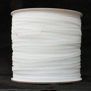 "(6mm) 1/4"" Horsehair Crinoline Braid (SOFT)- White - 288 Yards"