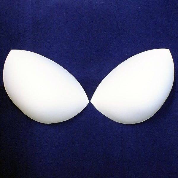 White Bra Cup - Multiple Sizes - 1-pair