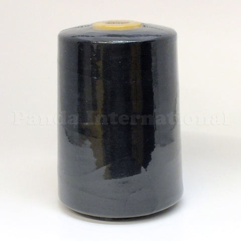 100% Polyester Tex 27 Sewing Thread 10,000 Yards- Black or White