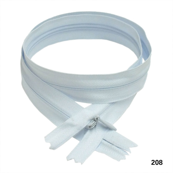 "BKC Invisible Zippers - Color:010 to 384 -  9"" or 24"" - 6-pk"