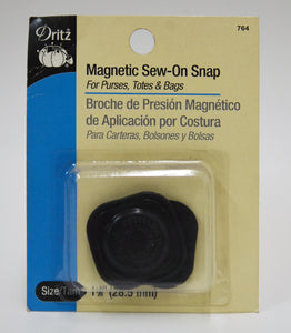 Magnetic Sew-on Snap - 2-pk