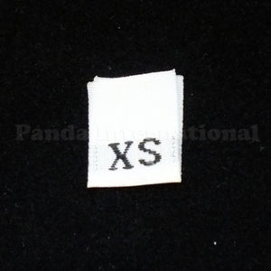 WHITE WOVEN LETTER SIZE LABEL