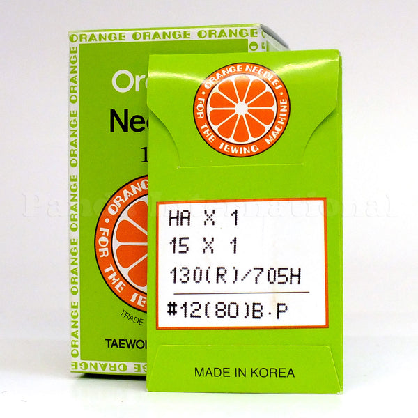 Orange Home Sewing Machine Needles - 10-PK