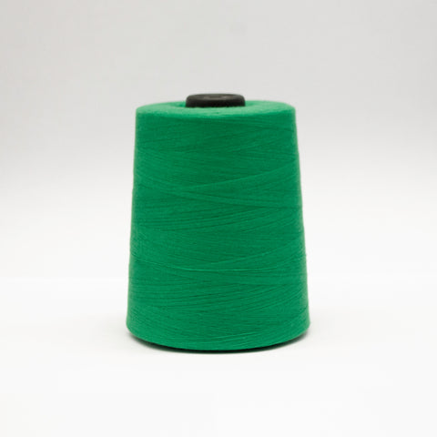 100% Polyester Tex 27 Sewing Thread 10,000 Yards - Green #6432