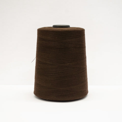 100% Polyester Tex 27 Sewing Thread 10,000 Yards - Dark Brown #5425