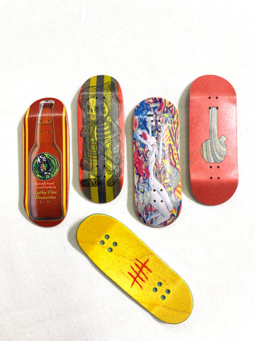 Five Luck Fingerboards - Wu Mold