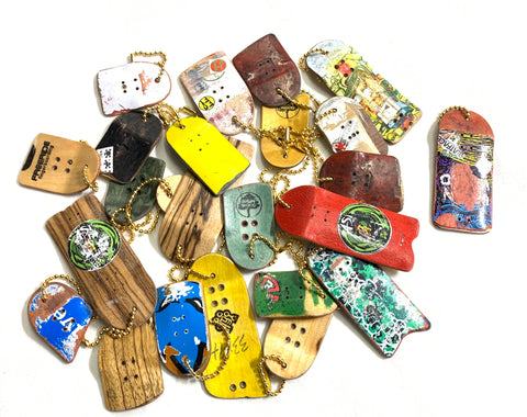 Upcycling Fingerboard Keychains