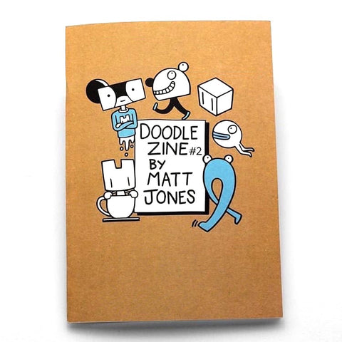 Doodle Zine #2 by Matt Jones