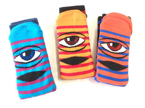 Toy Machine Socks Sect Small Stripes