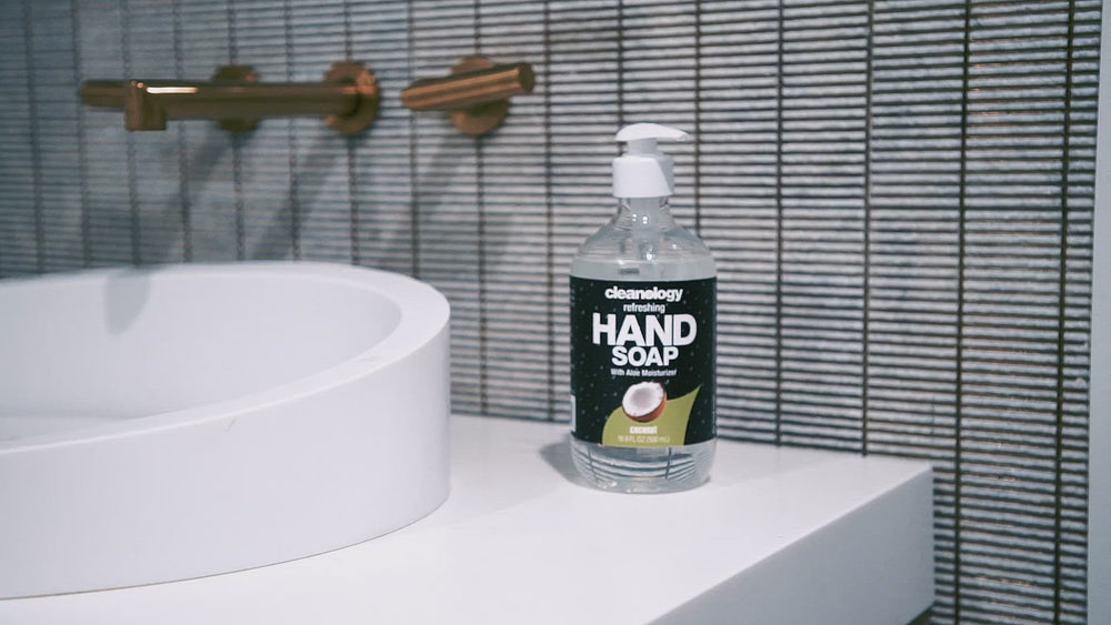 Load and play video in Gallery viewer, Hand Soap (COCONUT) 16.9 FL OZ (500 mL)