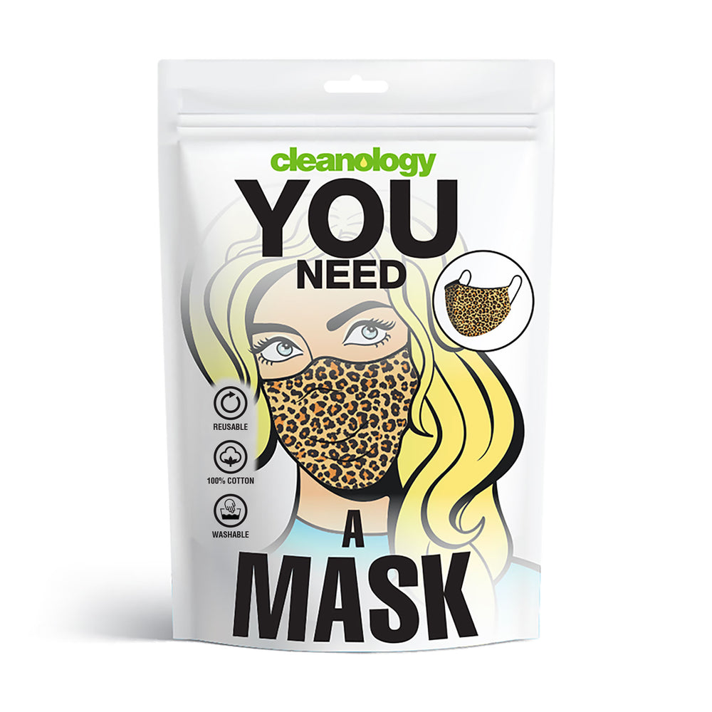 Reusable Masks (Women/Leopard)