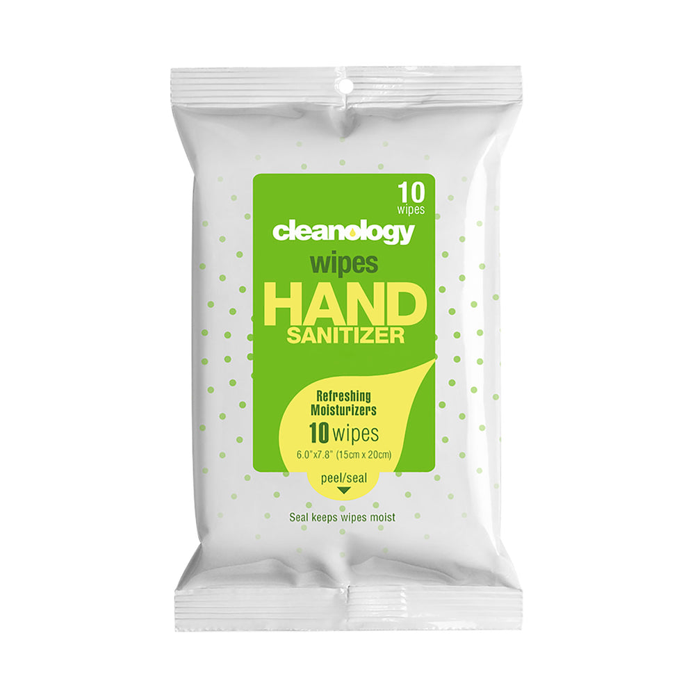 Sanitizer Wipes 10 wipes (bag)