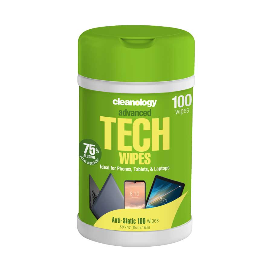 Tech Wipes 100 Pack (Container)