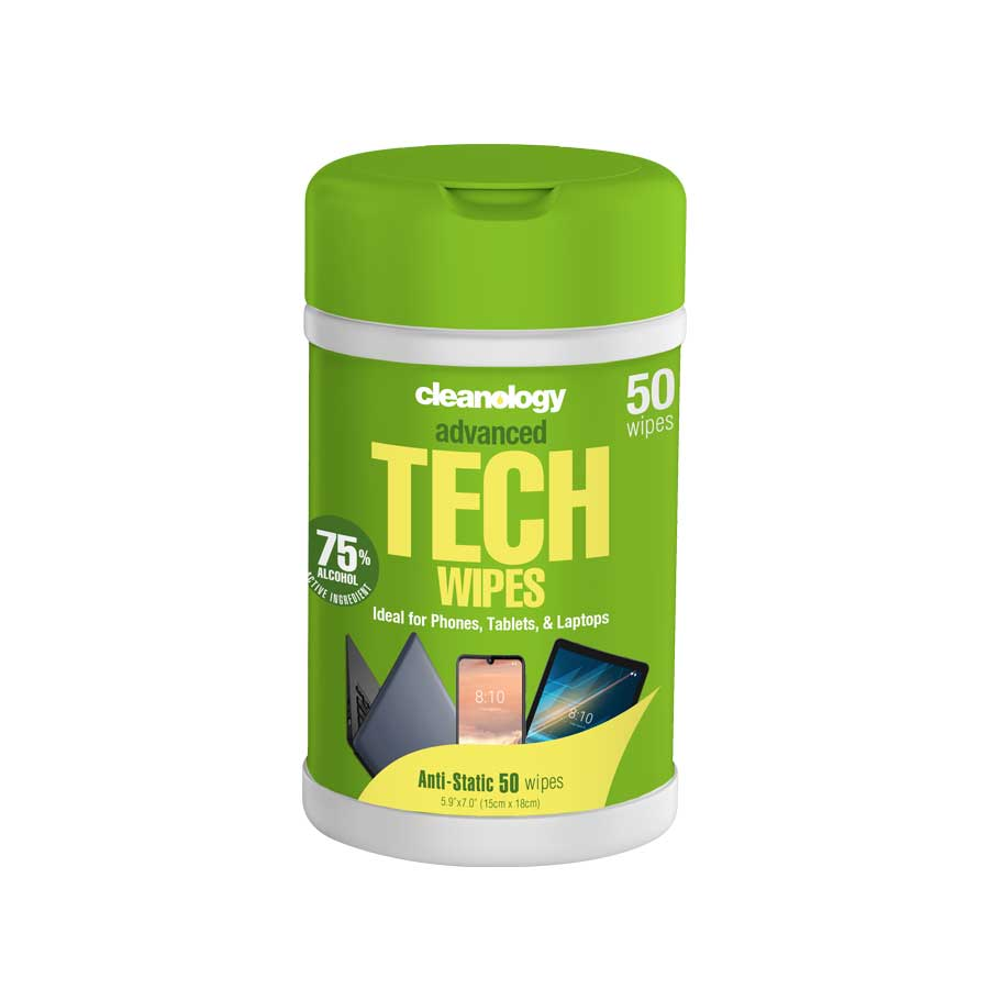 Tech Wipes 50 Pack (Container)