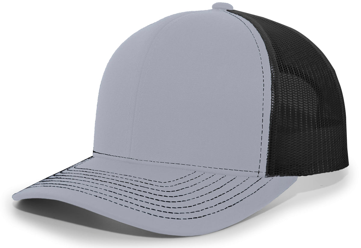 Pacific 104S Contrast Stitch Trucker Snapback