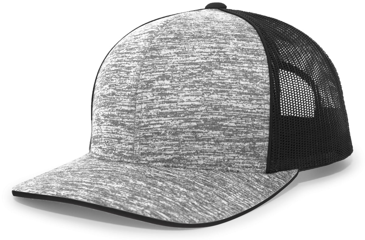 Pacific 106C Aggressive Heather Trucker Snapback Cap