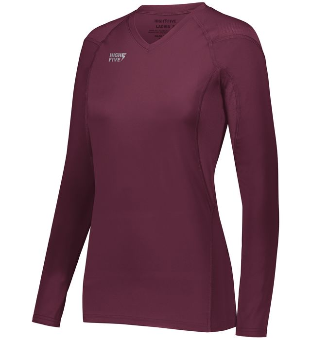 High Five 342212 Ladies TruHit  Long Sleeve Volleyball Jersey