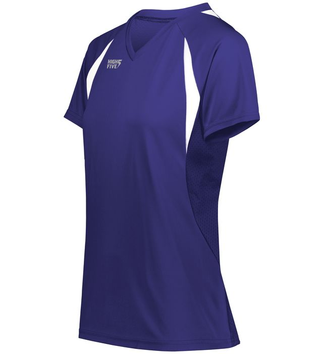 High Five 342232 Ladies Color Cross Volleyball Jersey