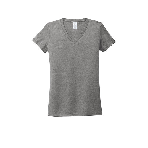 Allmade AL2018 Women's Ultra Premium Eco Sustainable Tri-blend V-Neck T-Shirt