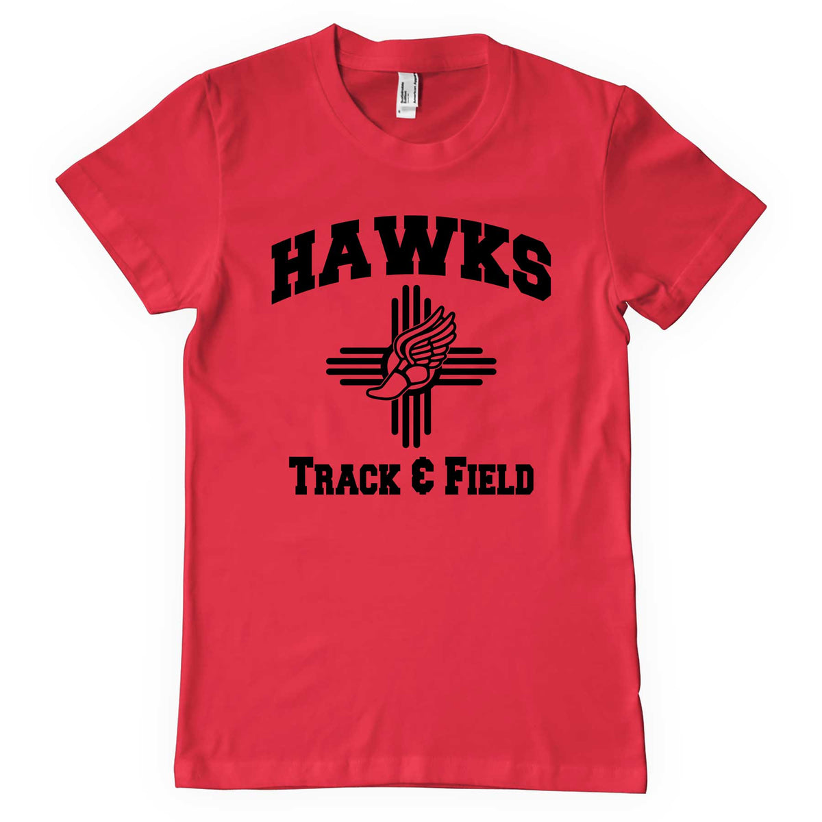 Centennial Track Red Softstyle T-Shirt