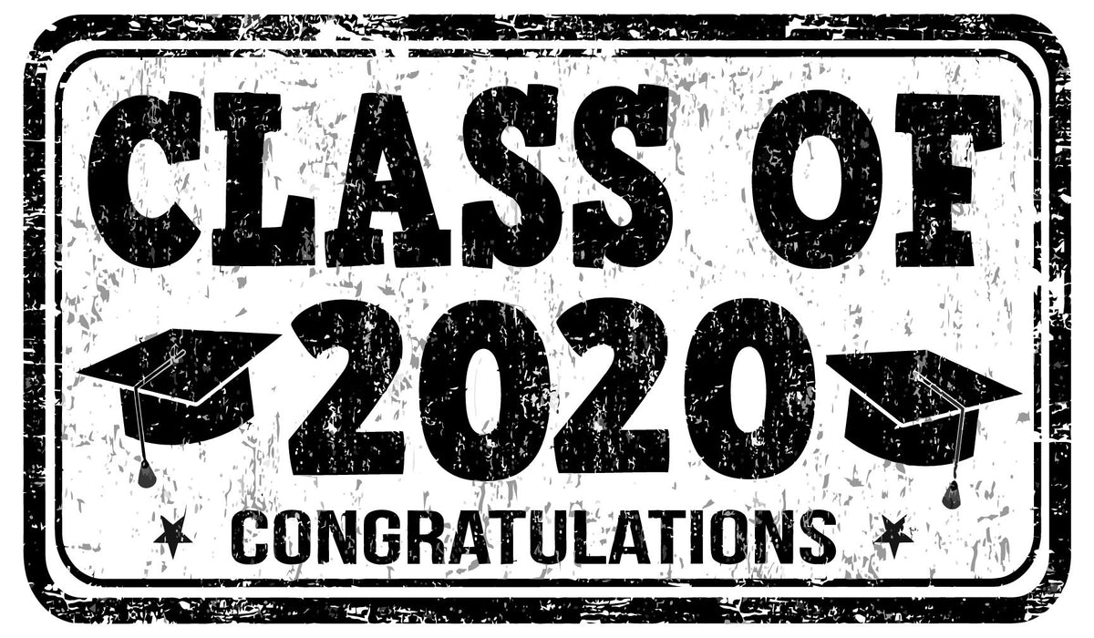 Class of 2020 Vehicle Magnet - Ragged Apparel Screen Printing and Signs - www.nmshirts.com