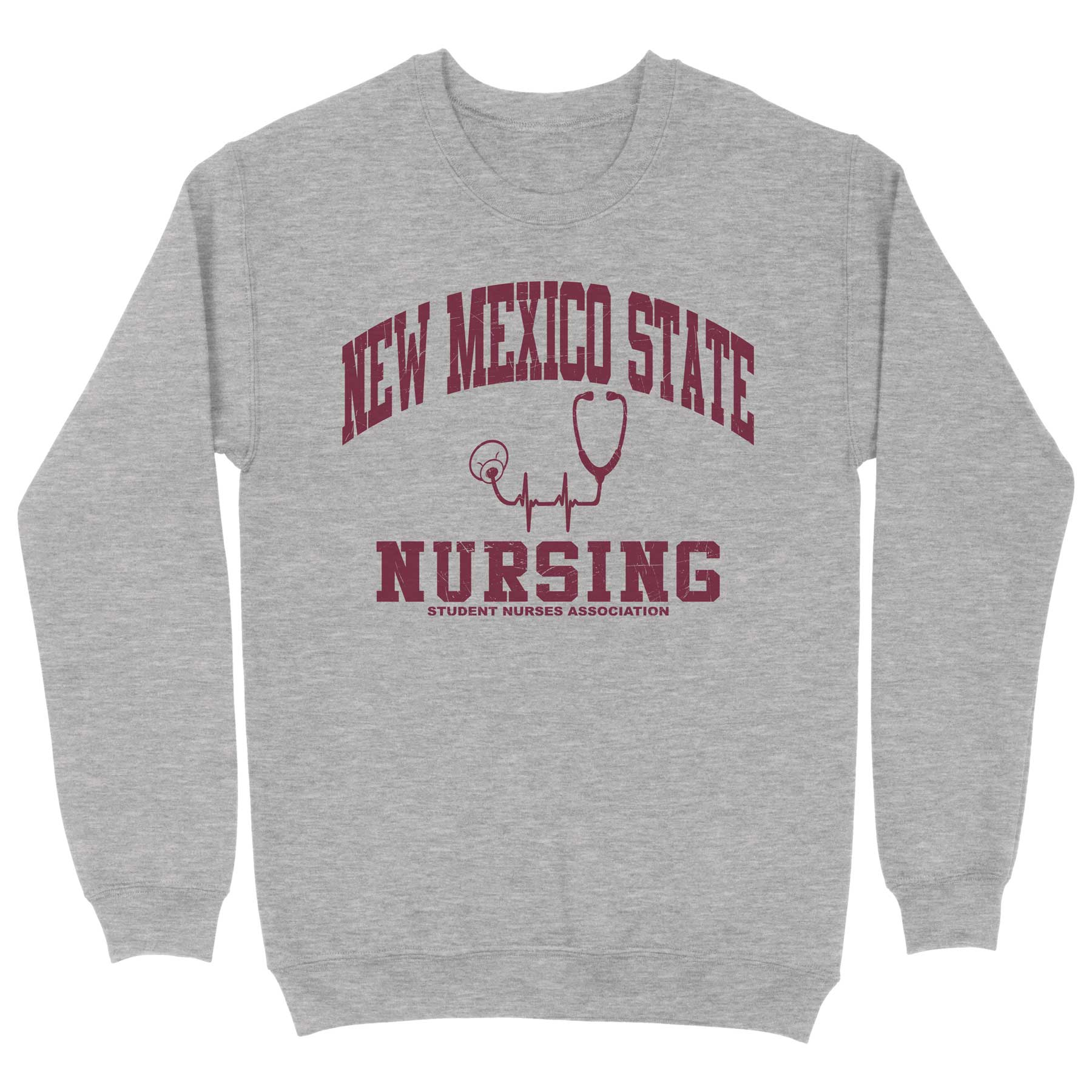 NMSU Student Nurses Association Crewneck Sweatshirt