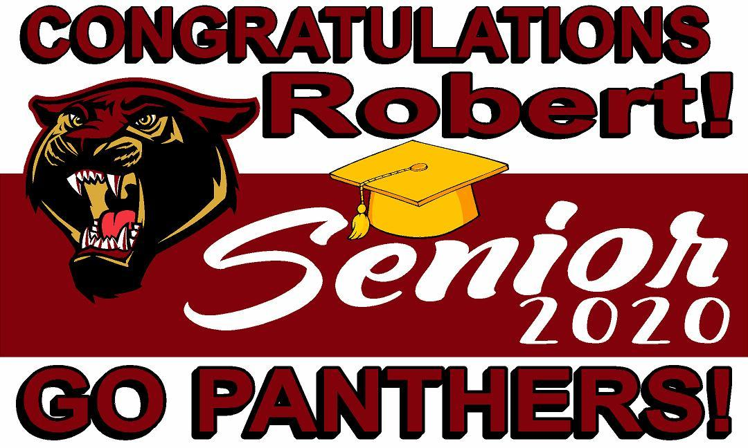 Gadsden High School Senior Banner - Ragged Apparel Screen Printing and Signs - www.nmshirts.com