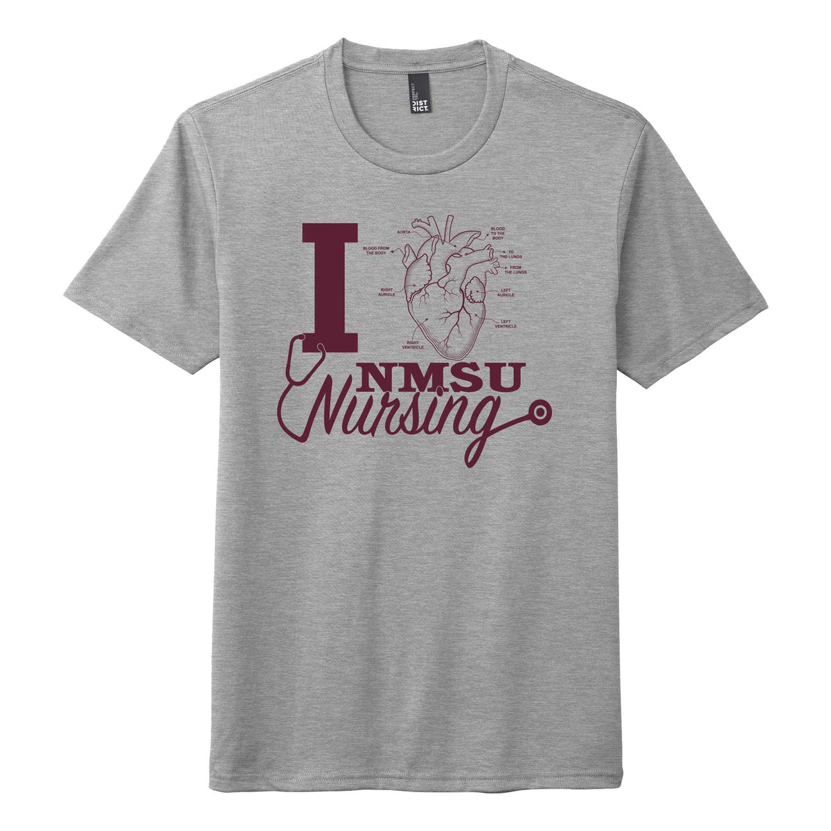 I Heart NMSU Nursing - Student Nurses Association Unisex T-Shirt